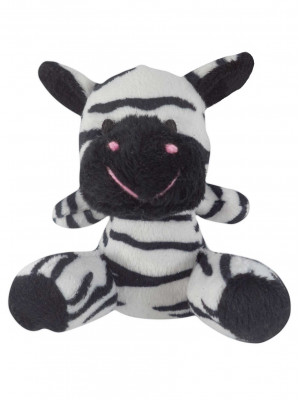 Zebra Safari de Pelúcia - Z7004P - ALT 10cm X LARG 8cm